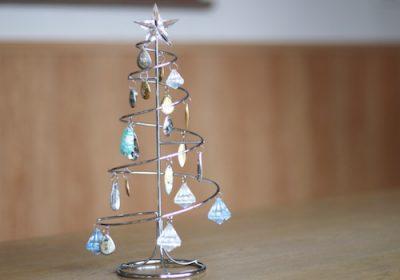 整理収納 一年中飾っているクリスマスツリー