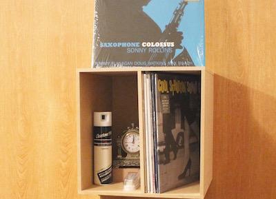 レコード収納Box