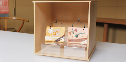 インテリアプレート展示Box